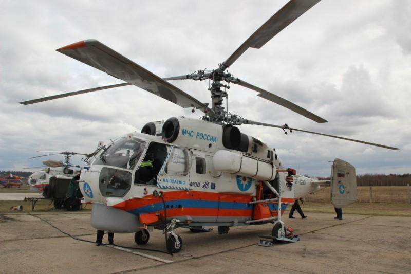 Вертолёт доставил 9-месячного ребенка сожогами изТвери вНижний Новгород