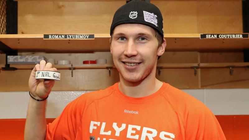НХЛ: «Филадельфия» одолела «Детройт» вовертайме, Любимов забросил шайбу