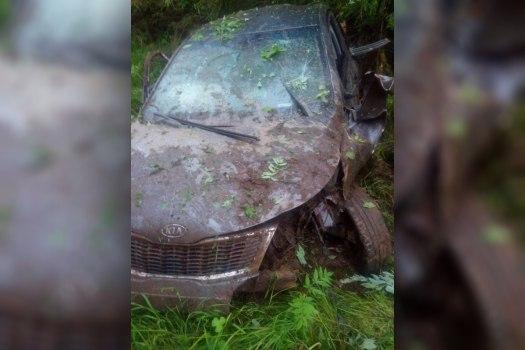 ВТверской области автомобиль вылетел сдороги— погибли два человека